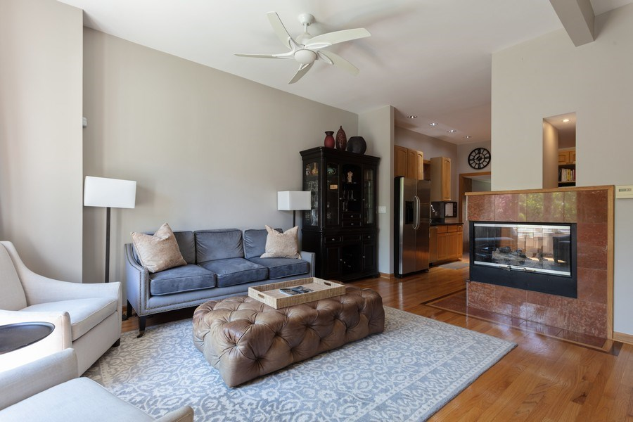 Real Estate Photography - 2432 W Huron St, Chicago, IL, 60612 - Living Room