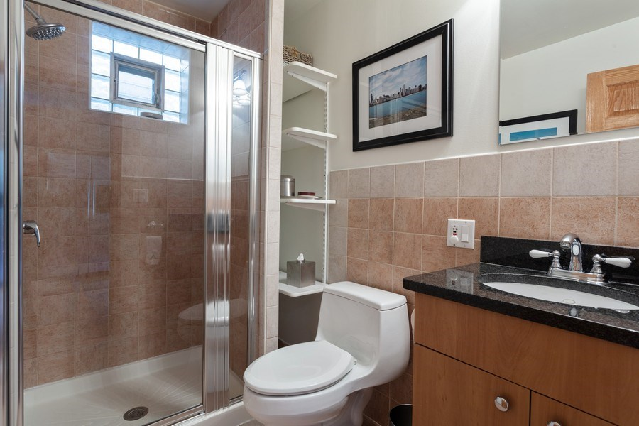 Real Estate Photography - 2432 W Huron St, Chicago, IL, 60612 - Bathroom