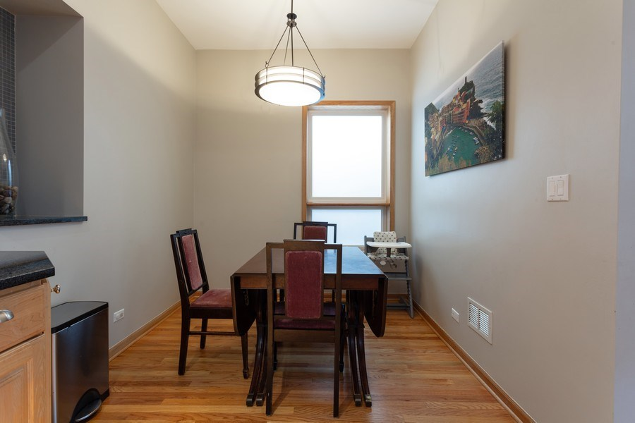 Real Estate Photography - 2432 W Huron St, Chicago, IL, 60612 - Dining Area
