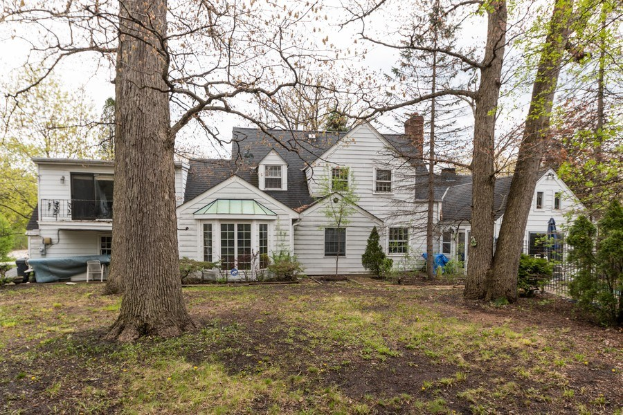 Real Estate Photography - 12420 S Iroquois Rd, Palos Park, IL, 60464 - Rear View