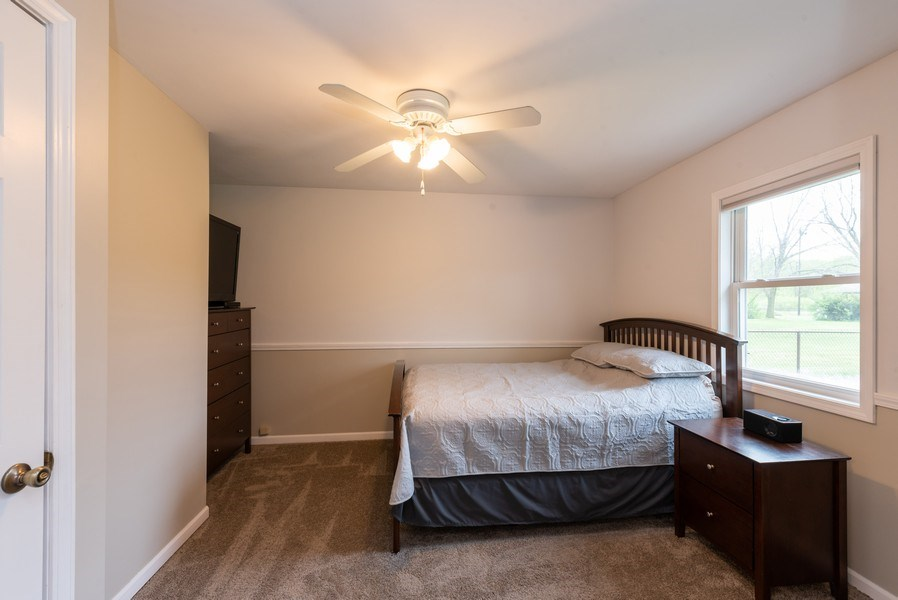 Real Estate Photography - 1635 S Cline, Griffith, IN, 46319 - Master Bedroom