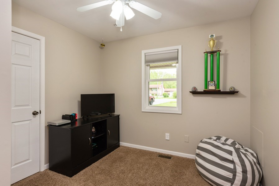 Real Estate Photography - 1635 S Cline, Griffith, IN, 46319 - 2nd Bedroom