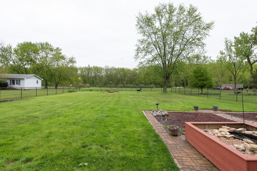 Real Estate Photography - 1635 S Cline, Griffith, IN, 46319 - Back Yard
