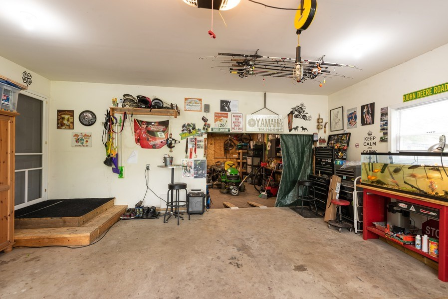 Real Estate Photography - 1635 S Cline, Griffith, IN, 46319 - Garage