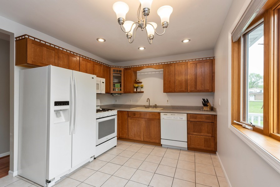 Real Estate Photography - 1635 S Cline, Griffith, IN, 46319 - Kitchen