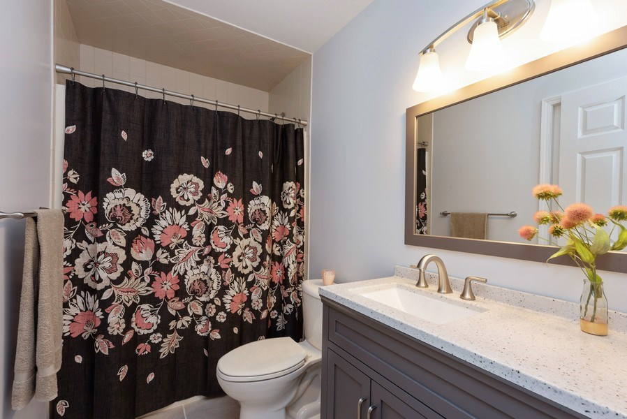 Real Estate Photography - 1635 S Cline, Griffith, IN, 46319 - Bathroom