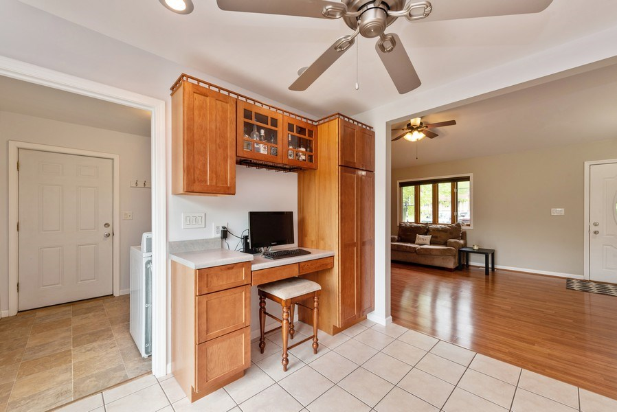 Real Estate Photography - 1635 S Cline, Griffith, IN, 46319 - Kitchen / Living Room