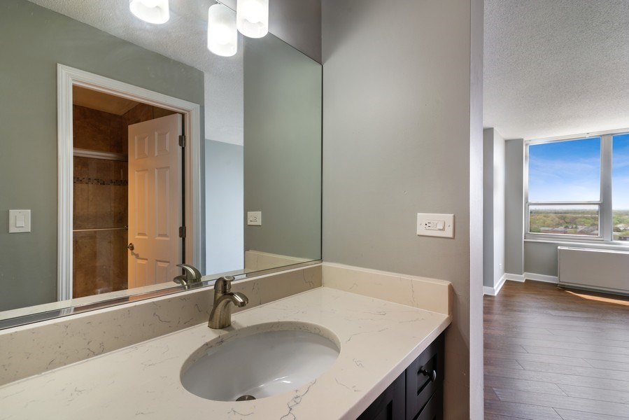 Real Estate Photography - 3925 Triumvera, Glenview, IL, 60025 - Master Bathroom