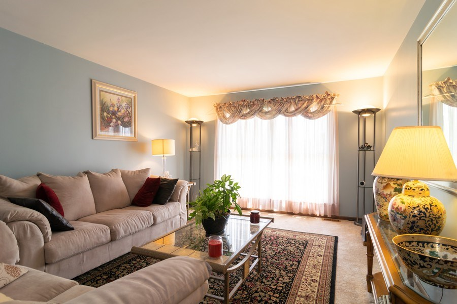 Real Estate Photography - 1574 Brookside Dr., Hoffman Estates, IL, 60194 - Living Room