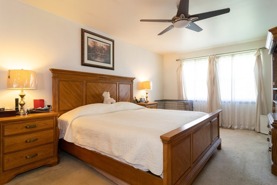 Real Estate Photography - 1574 Brookside Dr., Hoffman Estates, IL, 60194 - Master Bedroom