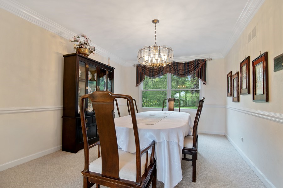 Real Estate Photography - 105 Medinah lane, Barrington, IL, 60010 - Dining Room
