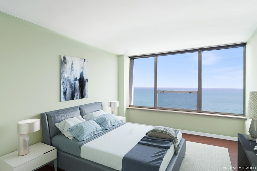 Real Estate Photography - 6101 N Sheridan Rd East unit 29-B, Chicago, IL, 60660 - 2nd Bedroom