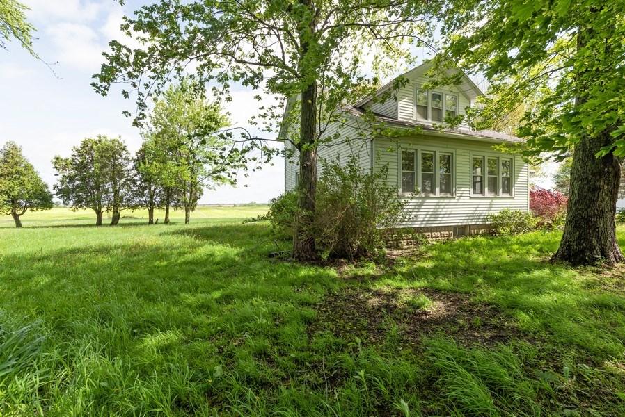 Real Estate Photography - 648 E. Eagle Lake Road, Beecher, IL, 60401 - Side View