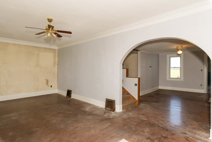 Real Estate Photography - 648 E. Eagle Lake Road, Beecher, IL, 60401 - Living Room / Dining Room