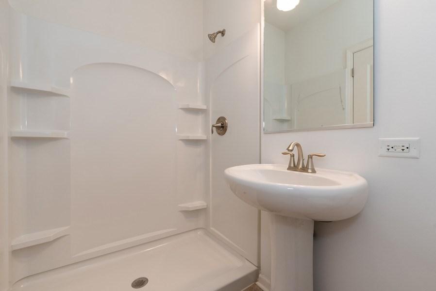 Real Estate Photography - 436 W Amberside Drive, Elgin, IL 60124, Elgin, IL, 60124 - Powder Room