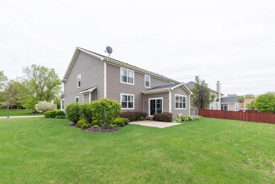 Real Estate Photography - 436 W Amberside Drive, Elgin, IL 60124, Elgin, IL, 60124 - Rear View