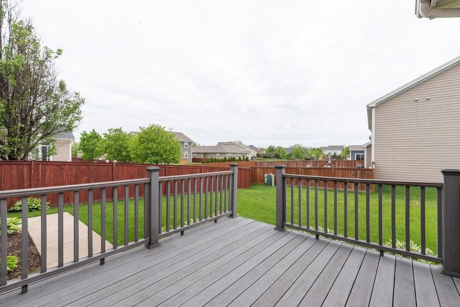 Real Estate Photography - 436 W Amberside Drive, Elgin, IL 60124, Elgin, IL, 60124 - Deck