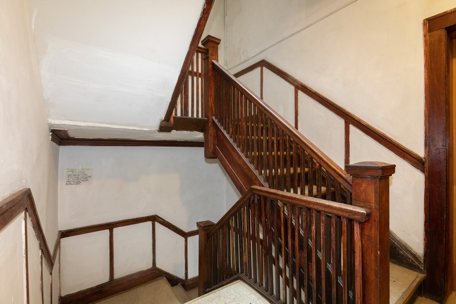 Real Estate Photography - 430 44th St, Chicago, IL, 60653 - Staircase