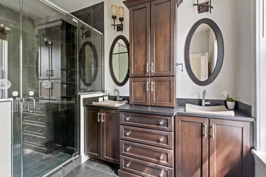 Real Estate Photography - 3820 Alta Vista Ter, Chicago, IL, 60613 - Master Bathroom