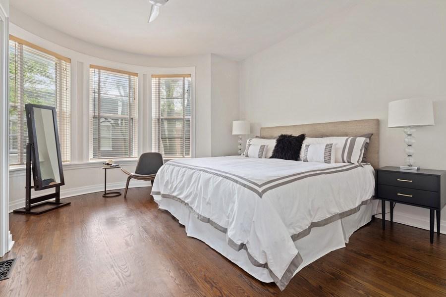 Real Estate Photography - 3820 Alta Vista Ter, Chicago, IL, 60613 - Master Bedroom