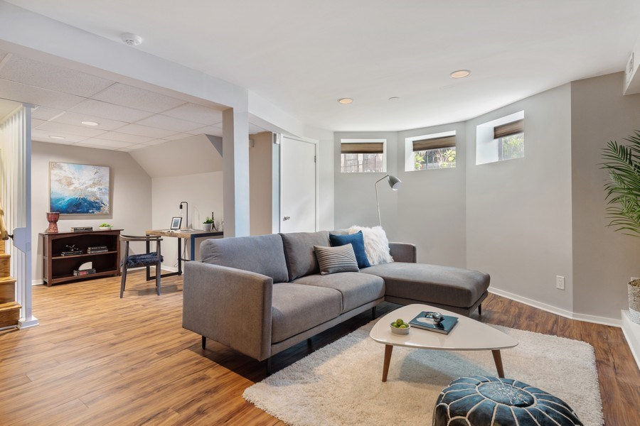 Real Estate Photography - 3820 Alta Vista Ter, Chicago, IL, 60613 - Lower Level