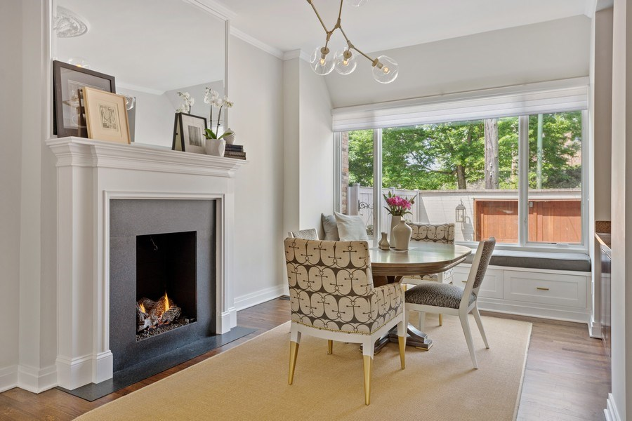 Real Estate Photography - 3820 Alta Vista Ter, Chicago, IL, 60613 - Dining Room