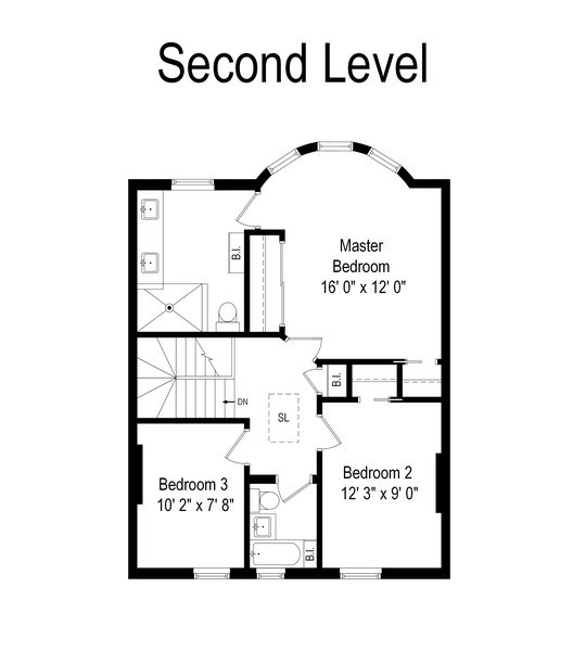Real Estate Photography - 3820 Alta Vista Ter, Chicago, IL, 60613 - Floor Plan