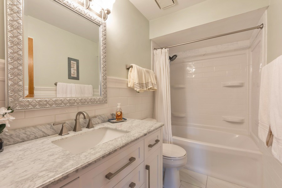 Real Estate Photography - 875 S Dwyer Ave, Arlington Heights, IL, 60005 - 3rd Bathroom