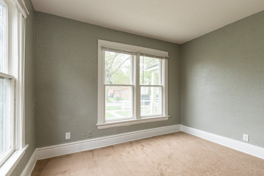 Real Estate Photography - 2406 Gilead Ave, Zion, IL, 60099 - 2nd Bedroom