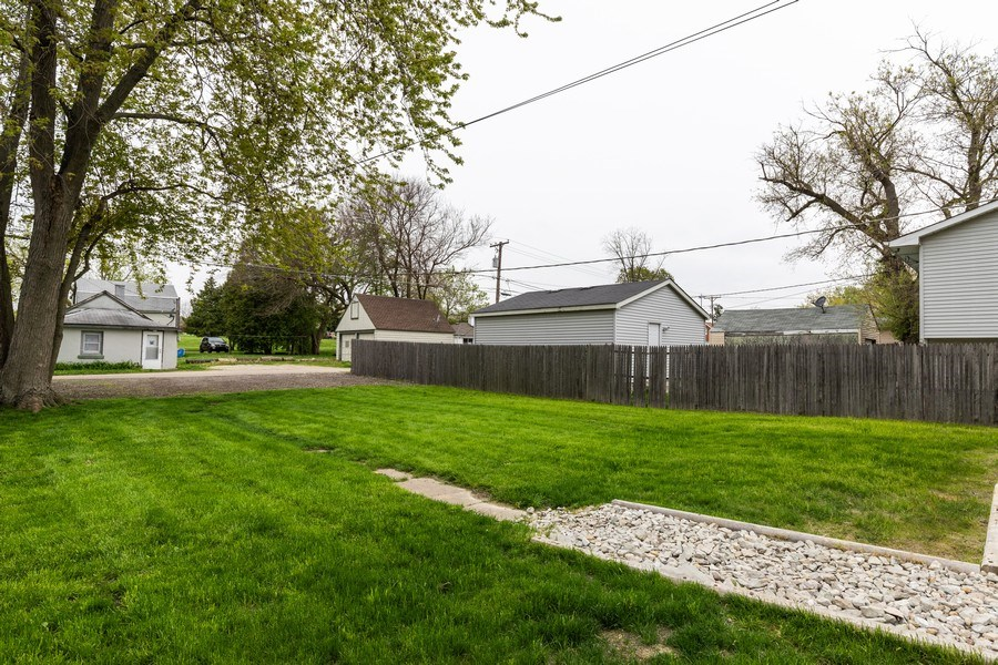 Real Estate Photography - 2406 Gilead Ave, Zion, IL, 60099 - Back Yard