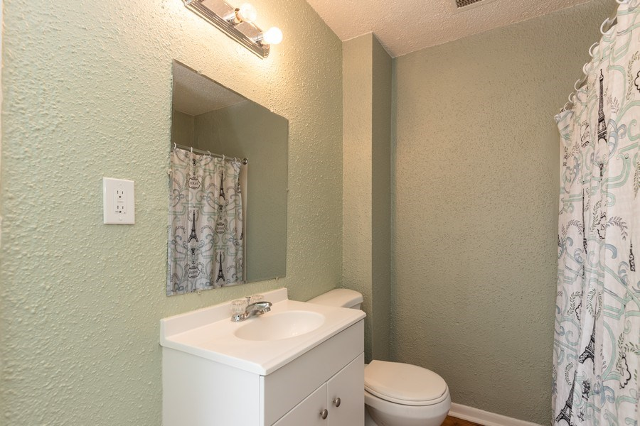 Real Estate Photography - 2406 Gilead Ave, Zion, IL, 60099 - Bathroom