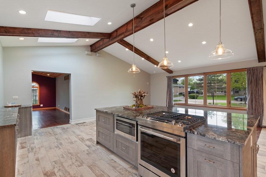Real Estate Photography - 525 Lotus Lane, Glenview, IL, 60025 - Kitchen