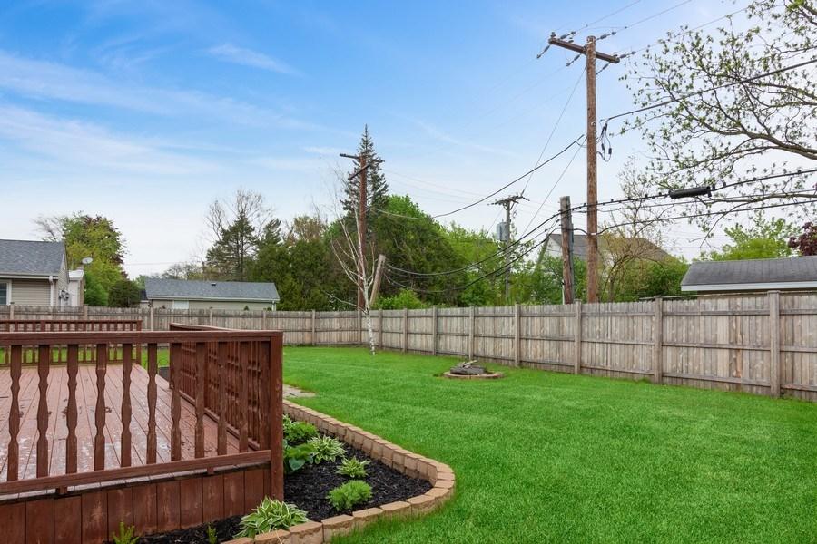 Real Estate Photography - 525 Lotus Lane, Glenview, IL, 60025 - Back Yard