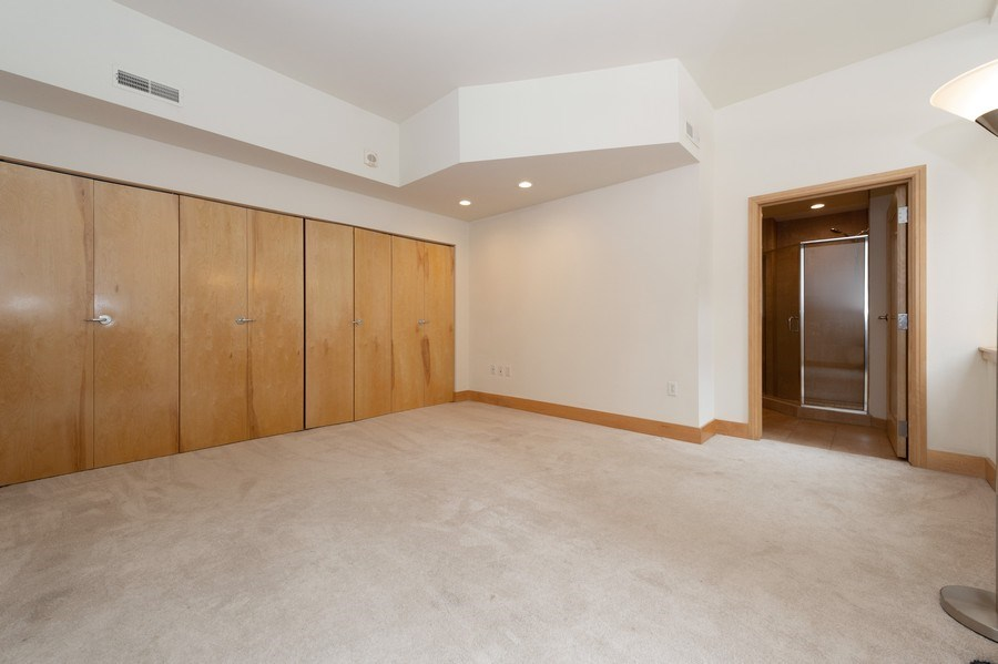 Real Estate Photography - 741 N Milwaukee St Unit 203, Milwuakee, WI, 53202 - Master Bedroom