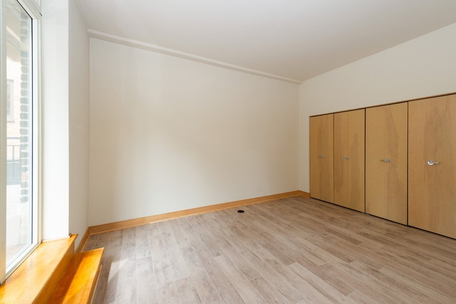 Real Estate Photography - 741 N Milwaukee St Unit 203, Milwuakee, WI, 53202 - 2nd Bedroom