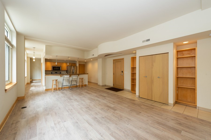 Real Estate Photography - 741 N Milwaukee St Unit 203, Milwuakee, WI, 53202 - Living Room