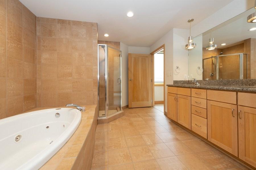 Real Estate Photography - 741 N Milwaukee St Unit 203, Milwuakee, WI, 53202 - Master Bathroom