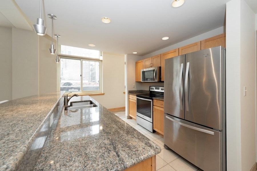 Real Estate Photography - 741 N Milwaukee St Unit 203, Milwuakee, WI, 53202 - Kitchen