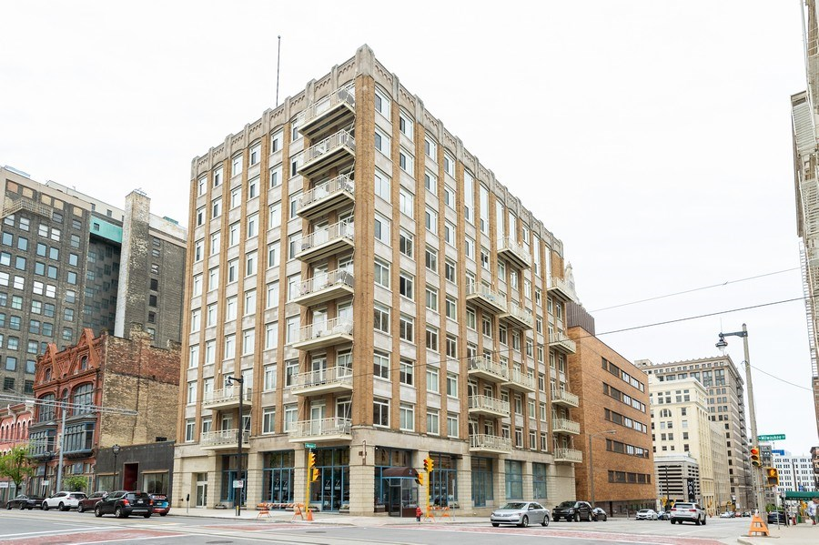 Real Estate Photography - 741 N Milwaukee St Unit 203, Milwuakee, WI, 53202 - Front View