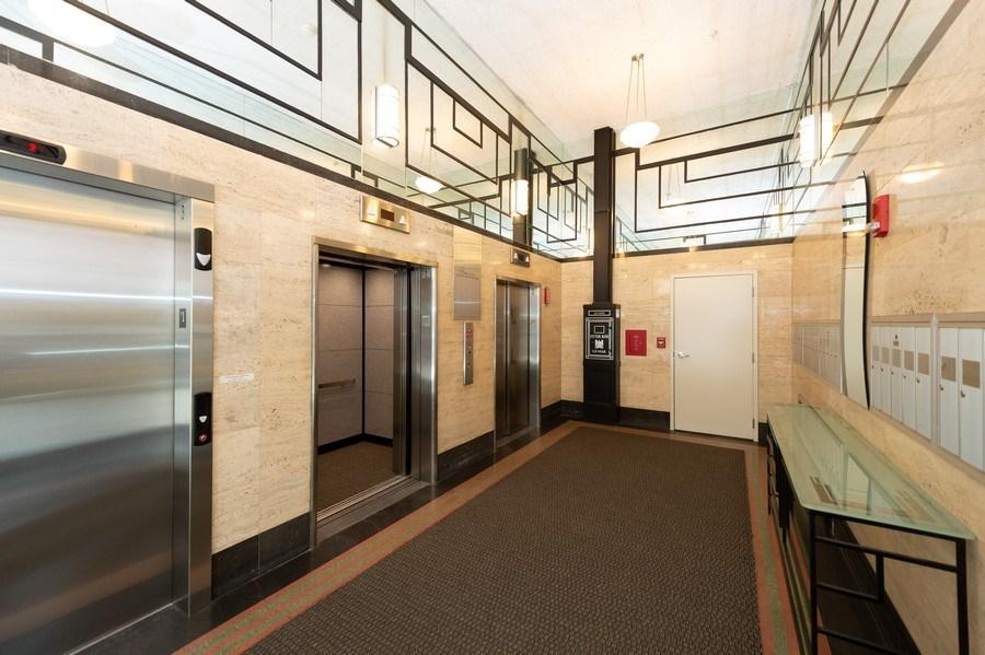 Real Estate Photography - 741 N Milwaukee St Unit 203, Milwuakee, WI, 53202 - Hallway