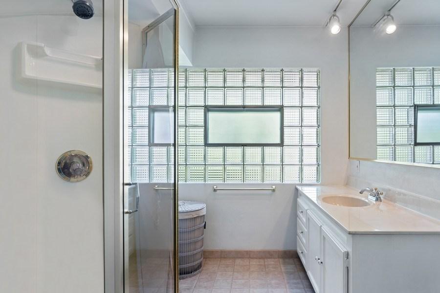 Real Estate Photography - 2303 Hazeltine, Long Beach, IN, 46360 - Master Bathroom