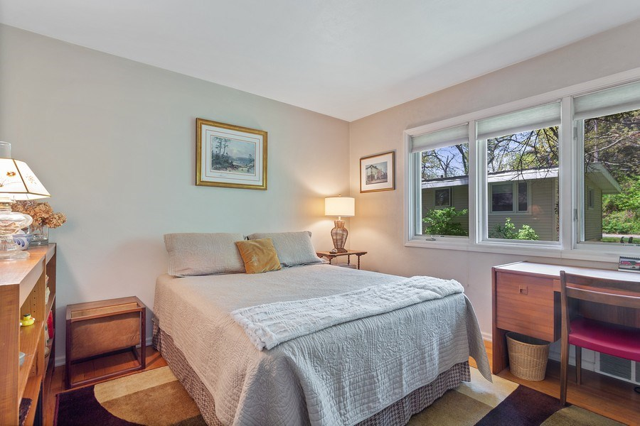 Real Estate Photography - 2303 Hazeltine, Long Beach, IN, 46360 - 2nd Bedroom