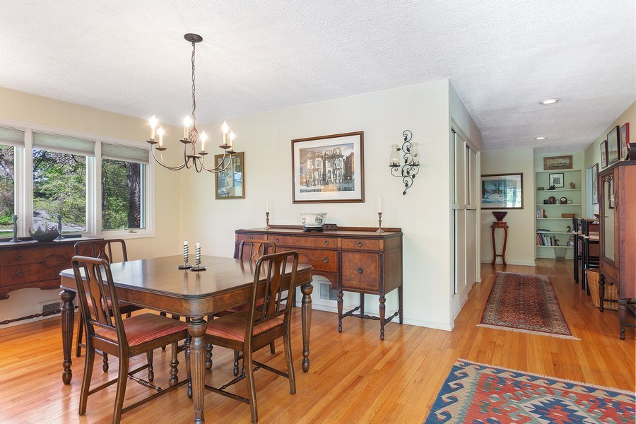 Real Estate Photography - 2303 Hazeltine, Long Beach, IN, 46360 - Dining Room