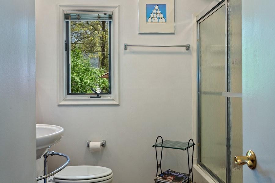 Real Estate Photography - 2303 Hazeltine, Long Beach, IN, 46360 - Bathroom