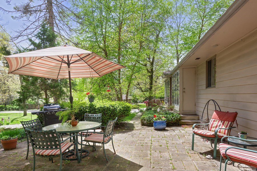 Real Estate Photography - 2303 Hazeltine, Long Beach, IN, 46360 - Patio
