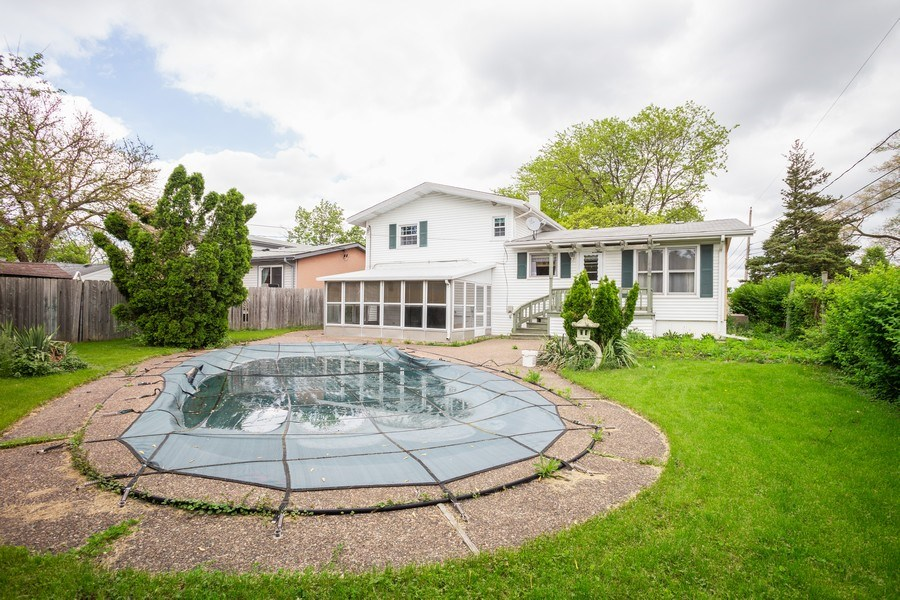 Real Estate Photography - 1426 Margret St, Des Plaines, IL, 60018 - Rear View