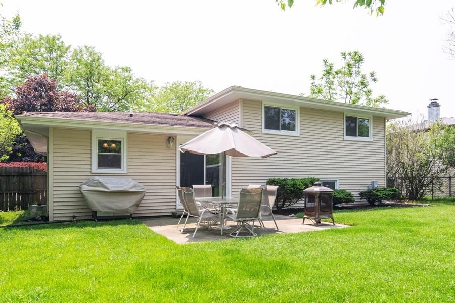 Real Estate Photography - 664 Juniper Ln, Bartlett, IL, 60103 - Rear View