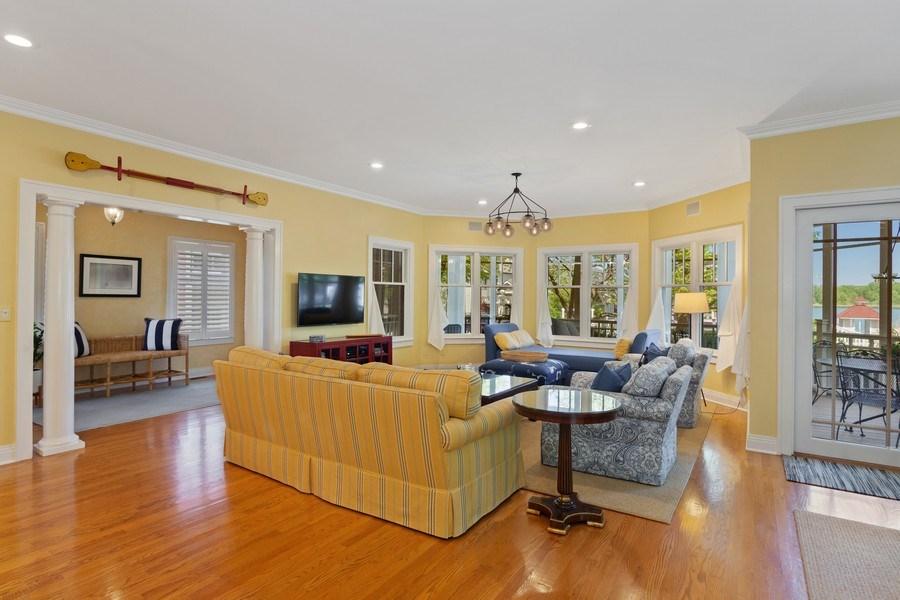 Real Estate Photography - 233 Beachwalk Ln, Michigan City, IN, 46360 - Living Room