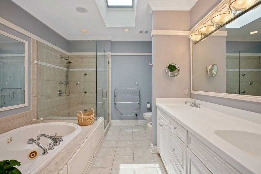 Real Estate Photography - 233 Beachwalk Ln, Michigan City, IN, 46360 - Master Bathroom