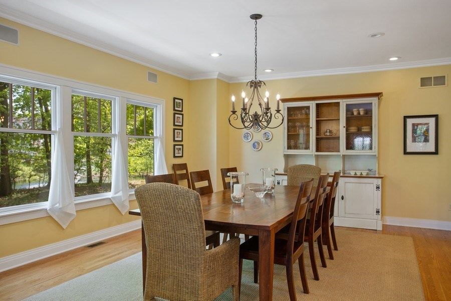 Real Estate Photography - 233 Beachwalk Ln, Michigan City, IN, 46360 - Dining Room